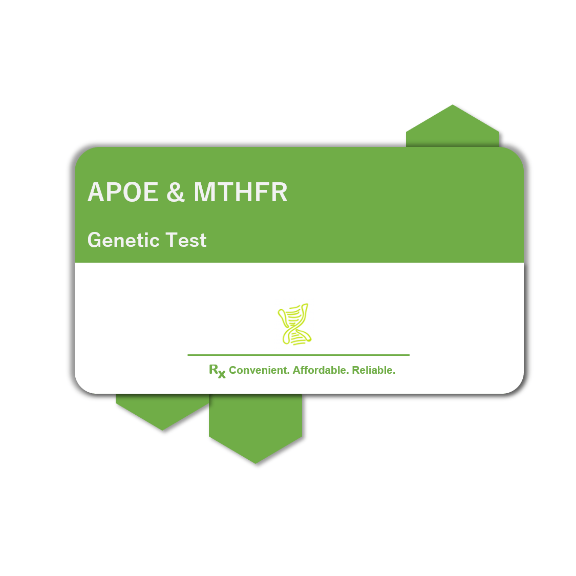 Current image of APOE & MTHFR Genetic Test