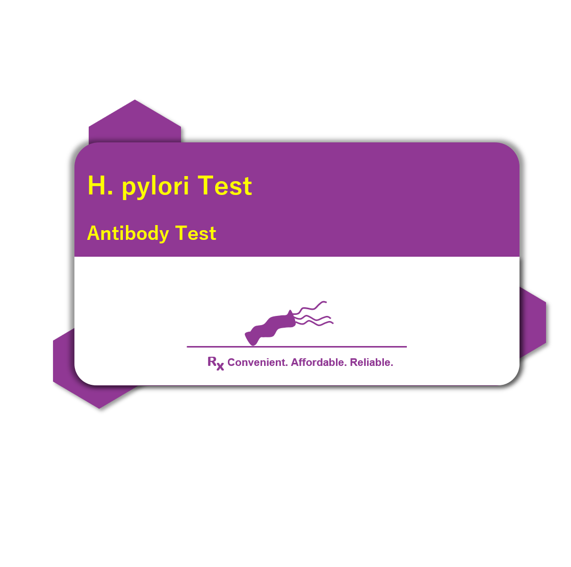 Current image of H. Pylori Antibody Test