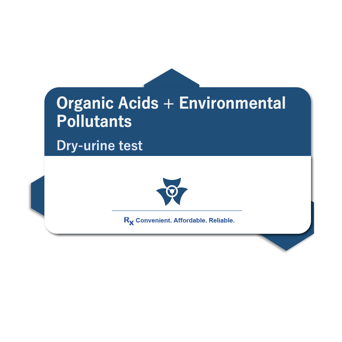 Organic Acids + Environmental Pollutants Test